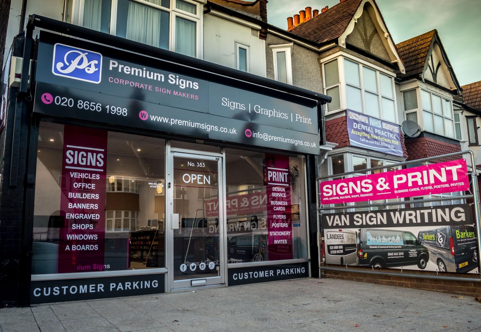 signs, print,, croydon